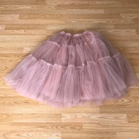 c90be14ea9 Chicwish Skirts | Pink Tulle Ballerina Party Skirt | Poshmark